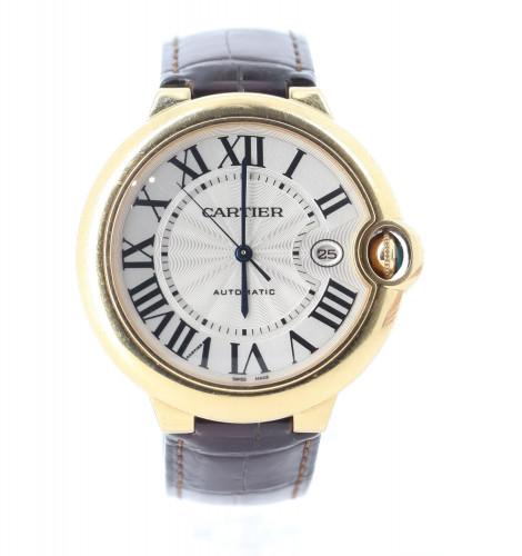Cartier Watch blue ballon