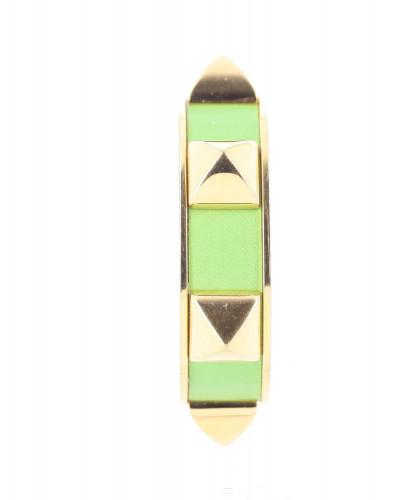 Hermes green Medor bracelet