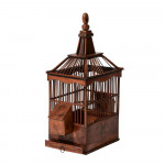 Home for a pampered bird