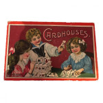 Cardhouses - a house-building game circa 1930