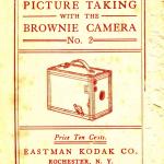 No 2A Box Brownie circa 1930