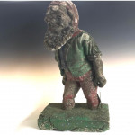 Large garden gnome - a cheeky chap from the 1920s