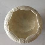 A rare Belleek porcelain shell and coral form dish, circa 1890