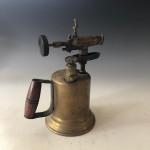 Brass blowtorch circa 1900