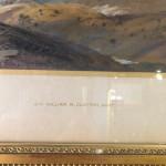Sir William R Clayton 19th century Highland landscape. Watercolour in a gilt frame.