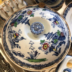 A Victorian Booths porcelain breakfast in bed set.