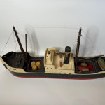 1937 Lines Brothers model ship, the British Merchant of Liverpool