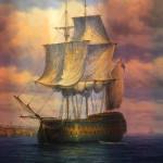 'Man of War at Anchor'