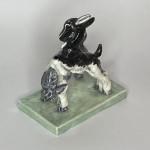 Royal Worcester porcelain figure 'Kids at Play' by Doris Linder