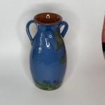 Torquay pottery parrot design vase
