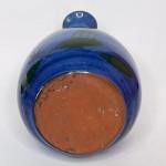 Torquay pottery kingfisher design tulip vase