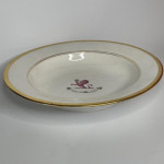 Early 19th century crested dinner service