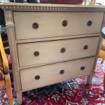 Small 19th century Gustavian painted chest of drawers, circa 1850