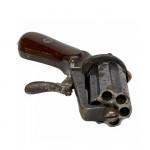 English 6-shot pepperbox revolver, circa 1850