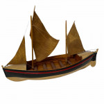 Late 19th century model RNLI sail lifeboat
