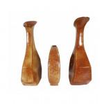 Trio of mid-century Roberto Rigon ceramic vases