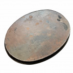 Oval 19th century painted toleware tray, circa 1820