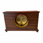 French mahogany case mantle clock, circa 1910