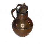 Arts & Crafts Guernsey copper water jug and lid, circa 1915