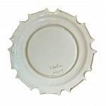 Set of six ceramic plates by Mario Salvini, circa 1920