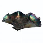 Victorian Carnival Glass Bowl
