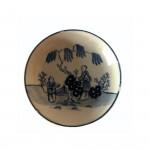 Liverpool Porcelain John Pennington Tea Bowl & Saucer