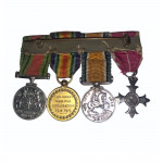 A set of four dress medals from the Great War