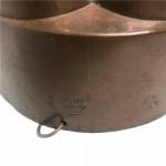 French copper jelly mould by J&F Gallard, circa 1830