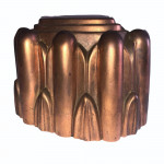 Early Victorian copper jelly mould, circa 1840