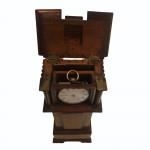 Mahogany Miniature Longcase Pocket-Watch Stand