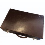 A 1930's leather cased cocktail bar made specifically for drinks at Glyndebourne