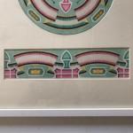Art Deco gouache design, circa 1930