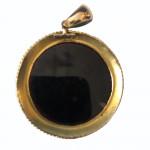 An exceptionally fine micro-mosaic pendant, circa 1840
