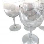 Suite of 11 Baccarat wine glasses, circa 1890