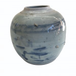 Early 19th century Chinese export blue and white ginger jar