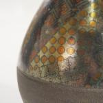 Ovoid stoneware vase, John Wheeldon (b. 1947)