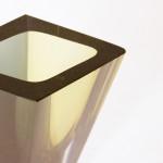 A Prisma glass vase, Kaj Franck (1911 - 1989)