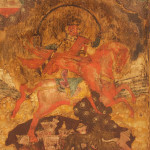 A Russian icon depicting Archangel Michael