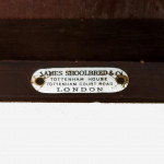 A mahogany occasional table by James Shoolbred