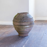 A large early 20th century terracotta urn
