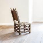 """An Asante """"Asipim"""" chair"""