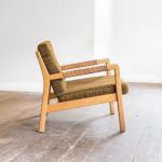An elm 'Rialto' chair by Carl-Gustaf Hiort af Ornas (b. 1911 - 1996)