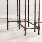 A George III mahogany spider leg table