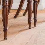 A set of six George IV faux rosewood dining chairs attributed to Gillows
