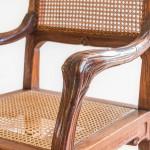 An Ecole Nancy carved beech Art Nouveau elbow chair