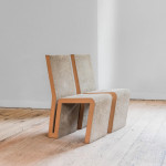 A pair of Easy Edge chairs by Frank O. Gehry (b. 1929)