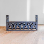 """The """"THEDA"""" Bench by Antony Hall (b. 1983) for Foster & Gane"""