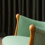 An upholstered armchair by Gustav Allert (1911 - 2001)