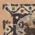 A late Byzantine framed Coptic tapestry fragment