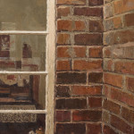 'Arched Window'  - Oil on canvas by Richard Combes ROI (b. 1963)